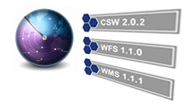GeoNetwork catalog service conform to the HTTP protocol binding   of the OpenGIS Catalogue Service specification version 2.0.2